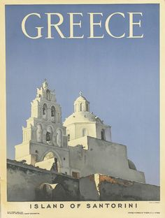 Sale 2267 Lot 344    D. HARISSIADIS (DATES UNKNOWN) GREECE / ISLAND OF SANTORINI. 1953.   31 1/2x23 1/2 inches, 80x60 cm. Phœnix Co. Ltd., Athens   Condition A-: minor tears at edges. Paper.     Estimate $600-900
