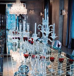 Baccarat Museum.  I dream of living here.