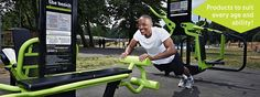 Free outdoor gym in Tamworth