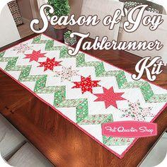 Season of Joy Tablerunner Kit<BR>Featuring Little Joys by Elea Lutz
