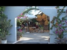 ▶ Bungalows Ingrid- the friendly family hotel in Asini,  Peloponnese - #Greece #Travel #video