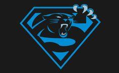 Superman Carolina panthers sign, awesome!