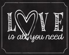 Daylights: Love Is All You Need Print
