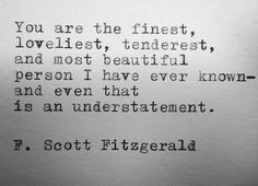Love F. Scott Fitzgerald