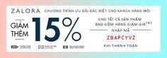 Chào bạn,   Nếu bạn chưa từng mua hàng thời trang Online, hãy thử trải nghiệm tại trang này với mã giảm giá ZBAPCYVZ nhé. Hiện tại trên Mã giảm giá Zalora.vn, đây là coupon giảm giá được nhiều lượt xem, nhiều lượt sử dụng, và nhiều phản hồi tích cực nhất.  Quyền lợi sử dụng mã giảm giá Zalora : Nhập coupon ZBAPCyVZ vào trước khi thanh toán để giảm 15% trên tổng giá trị đơn hàng Mã này áp dụng cho tất cả các sản phẩm tại Zalora kể cả sản phẩm đang giảm giá. Nghĩa là nếu có sản phẩm nào đó…