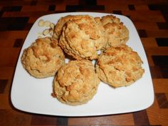 All Things Carbalose Flour Low Carb SugarFree Diabetic Chef's Recipes Carbquik Recipes, Flour Recipes, Chef Recipes, Diabetic Recipes, Low Carb Recipes, Dessert Recipes, Fruit Scones, Pastry Blender, Sliced Almonds