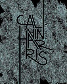 Calvin Harris Poster by Viv Cruickshank on CreativeAllies.com