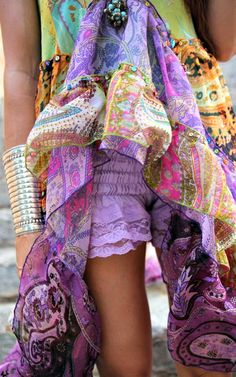 colorful bohemian #mirabellabeauty #color #bohemian