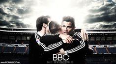 Real Madrid BBC, Bale, Benzema, Cristiano Ronaldo