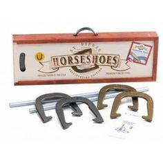 Horseshoes from the Made in America Store