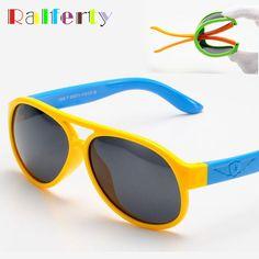 d85afbe84d Niños bebés Niños TR90 gafas de Sol Polaroid TAC Polarizado Gafas de Sol de  Marco Ovalado Gafas de Seguridad Infantil Niñas Gafas Al Aire Libre 806