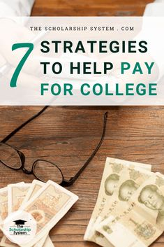 If you and your child are struggling with how to pay for college, here are seven things you can do to get the money you need. College Planning, Student Loan Debt, College Application, College Admission, Scholarships For College, Parenting Teens, In High School, You Can Do, Child