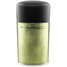 Mac Golden     Olive  Frost Pigment ($22) ❤ liked on Polyvore featuring beauty products, makeup, eye makeup, eyeshadow, mac cosmetics and mac cosmetics eyeshadow