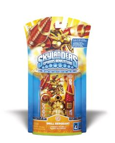Skylanders Spyros Adventure Drill Sergeant -- For more information, visit image link.Note:It is affiliate link to Amazon.