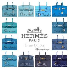 e are some standard Hermes colors and how it looks on the Birkin. I've taken these pictures from various sources and complied them for easy reference. Sac Birkin Hermes, Birkin 25, Hermes Bags, Hermes Handbags, Luxury Handbags, Blue Jeans, Hand Bags 2017, Beautiful Bags, Handbag Accessories