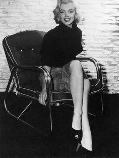 Marilyn Monroe. Photo by Mischa Pelz, 1953.