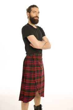 With this Red Tartan Kilt, you can exude classic Scottish charm wherever you go. A kilt that is ideal for wear in both casual and formal settings, this kilt provides you with versatile wear to fit into many kilt-wearing ensembles. #RedTartanKilt #RedTartan #kilt #KiltsForSale #ScottishKilt