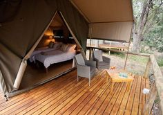 Die oulike permatente by Rukiya Safari Camp. Ultimate Travel, Outdoor Furniture, Outdoor Decor, Glamping, Safari, Luxury, Home Decor, Decoration Home, Room Decor