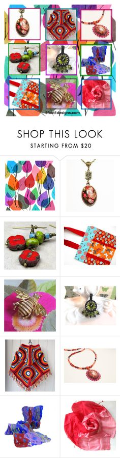 """""""Colorful Etsy Finds"""" by fivefoot1designs ❤ liked on Polyvore featuring Garima Dhawan, Avon, etsy, polyvoreshopping and ETSYShopping"""