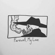 """19k Likes, 75 Comments - Matt Bailey (@baileyillustration) on Instagram: """"Farewell, My Love."""""""