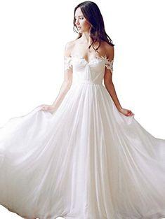 Cloverdresses Bride Dresses Off The Shoulder Wedding Dres...