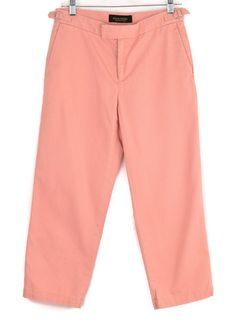 Banana Republic Pink Premium Chinos Size 4 | ClosetDash #fashion #style #pants