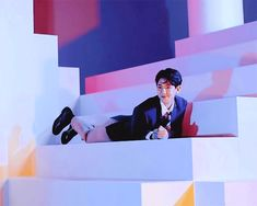 You look at the photo shoot photos of Baekhyun and then you come to this!!!