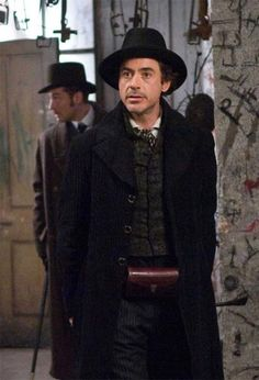Movie costumes through time in Sherlock Holmes, at Pirates Cave