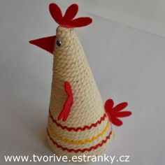 Jute Crafts, Clay Crafts, Diy And Crafts, Easter Flower Arrangements, Easter Flowers, Toddler Arts And Crafts, Crafts For Kids, Easter Egg Crafts, Diy Ostern