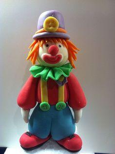 Clown topper
