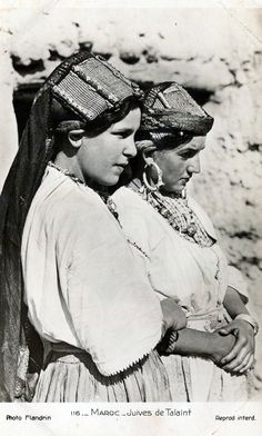 "Africa | ""Juives de Talaint ~ Maroc"" 