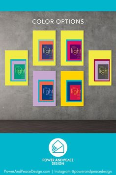 I have come as light into the world.  –Jesus [John 12:46]   Shop for colorful Christian wall art like you've never seen before!   This modern geometric Bible art is available in 6 bright color combinations. Choose the one that suits your colorful style!   Our high-quality canvases are designed to last for many years and are available in 4 different sizes. Each order is custom printed in deep colors and hand-stretched on a wooden frame.  #Christian #Bible #colorful #brightboldhome #Jesus Bible Verse Wall Art, Bible Art, Bible Verses, Yellow Kids Rooms, Yellow Nursery, Purple Art, Purple Walls, John 12 46, Christian Wall Art