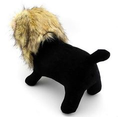 Small Pet Clothes Dogs Cats Lion Mane Costume Wig Hat Festival Party Fancy Dress