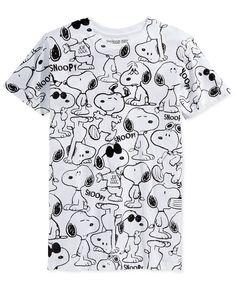 9cbe921f Jem Men's Peanuts Snoopy T-Shirt & Reviews - T-Shirts - Men - Macy's