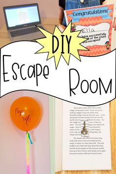 Try out an escape room in your own home with this escape room DIY. #escaperoomdiy #activitiesforkidsathome #escaperoomforkids #activitiesforkids