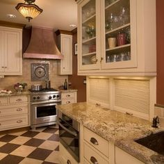 Hide Appliances Design, Pictures, Remodel, Decor and Ideas appliance garage built into wall Kitchen Appliance Storage, Appliance Garage, Kitchen Appliances, Kitchen Cabinets, Stainless Appliances, Kitchen Floors, Maple Cabinets, Kitchen Units, Small Appliances