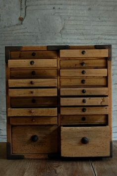 Antique Japanese drawers