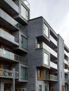 CeresByen, Ceres Corner  C.F. Møller. Photo: Julian Weyer