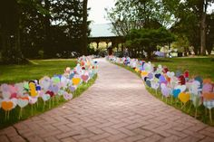 24 Bright + Colorful Wedding Ideas to Save for Spring via Brit + Co