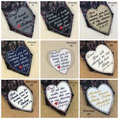 WEDDING TIE PATCH - Choose Patch Color - Father of the Bride Gift, Father of the Groom, Thank You, Iron-On Patch, Sew-On Patch, Tie Patch
