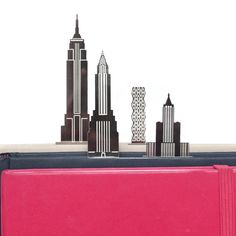 City Clips - New York page markers