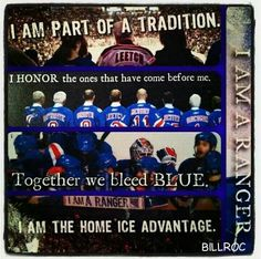 I am a Ranger! New York Rangers Rangers Hockey, Rangers News, Hockey Memes, Hockey Quotes, New York Rangers, New York Giants, The Way I Feel, Los Angeles Kings, All Things New