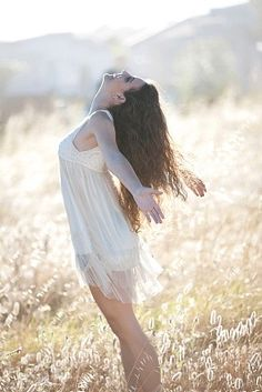 Woman Playing In Tall Grass / 'Fairies...I am here' / Photography / Royalty Free Images at Inmagine
