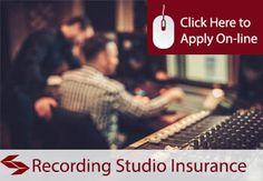 recording studio insurance
