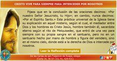 MISIONEROS DE LA PALABRA DIVINA: REFLEXIÓN - CRISTO VIVE PARA SIEMPRE PARA INTERCED...