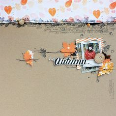 BerryCloud. Creo, ergo sum: Golden Autumn / Layout and CaS Card