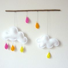 cloud mobile: by leptitpapillon etsy