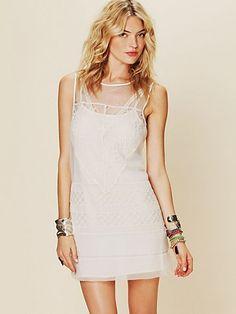 Geometric Lace Shift Dress  http://www.freepeople.com/current-catalog/geometric-lace-shift-dress/