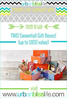 Enter to win a $50 Swoonfull Gift Card |