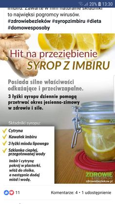 Zdrowie New Recipes, Healthy Recipes, Canning Recipes, Easy Cooking, Health And Beauty, Healthy Living, Food Porn, Health Fitness, Food And Drink